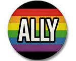Rainbow Ally Pin
