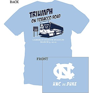 Triumph on Tobacco Road - Johnny Tshirt