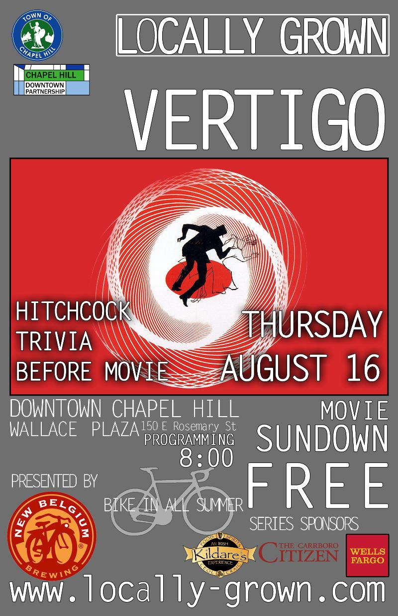 LOCALLY GROWN - Vertigo poster