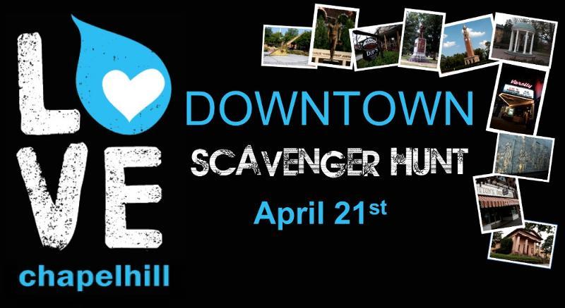 Love Chapel Hill Scavenger Hunt 2012