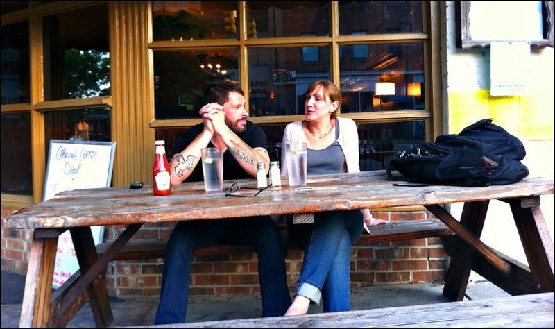 Carolina Coffee Shop- sidewalk dining