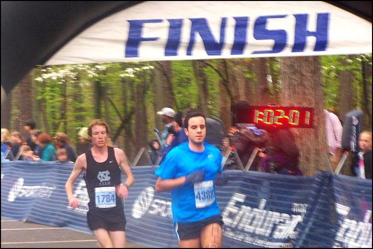 Tar Heel 10 miler 2011