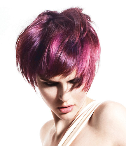 Aveda Pink Hair