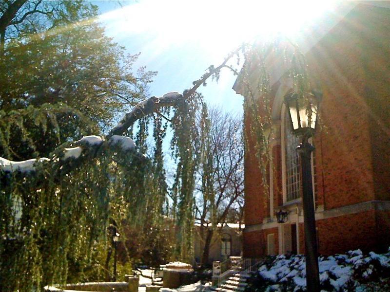 Snow day - UNC Campus