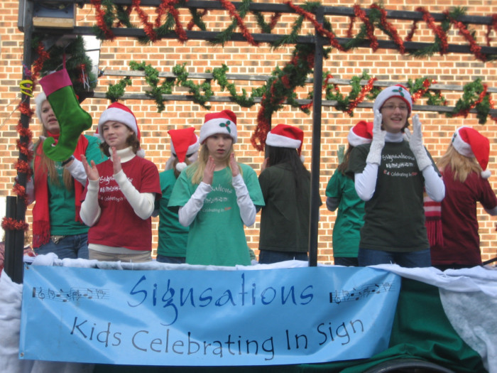 Holiday Parade 2011- 1