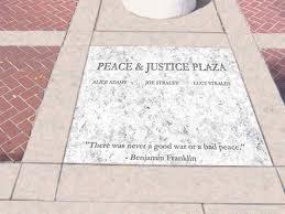 Peace & Justice Marker
