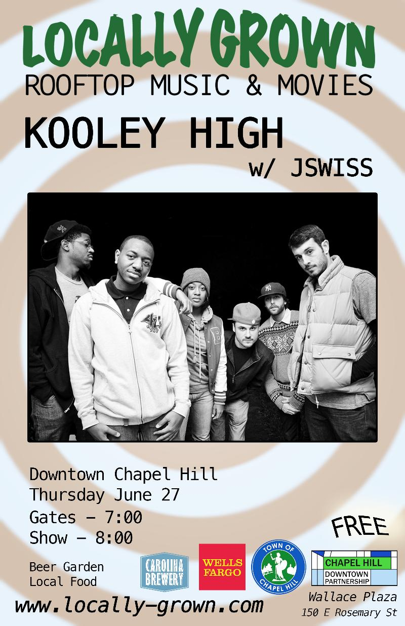 Kooley High/ JSWISS  concert poster