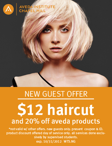 AVEDA Coupon Sept 27