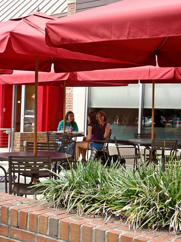 Patio Dining at Noodles