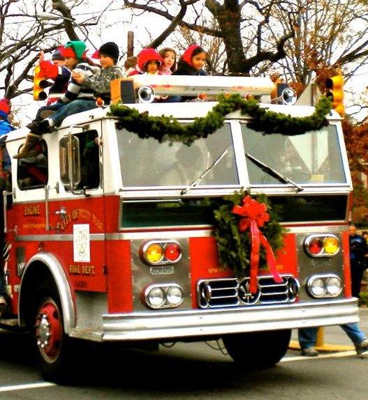Holiday Parade - firetruck