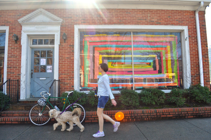 West Franklin Art Installation (Spring) - Charles Chace