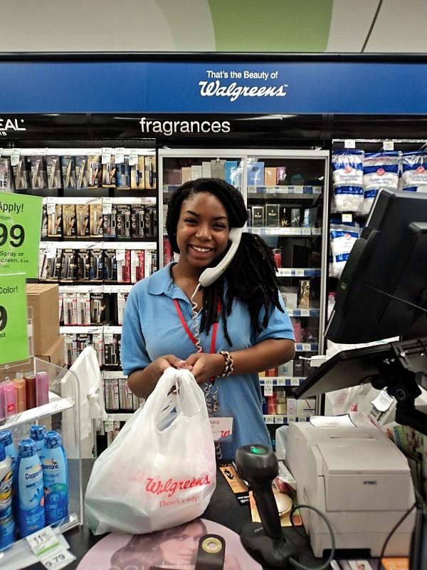 Walgreens employee