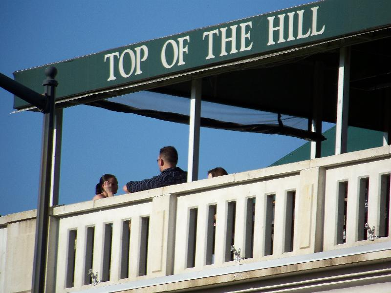 Top of the Hill patio
