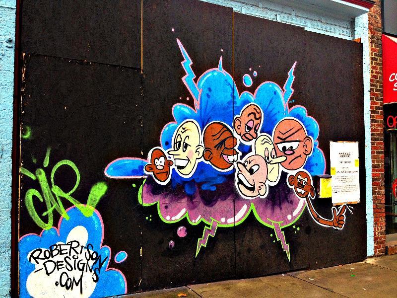 Casey Robertson - mural