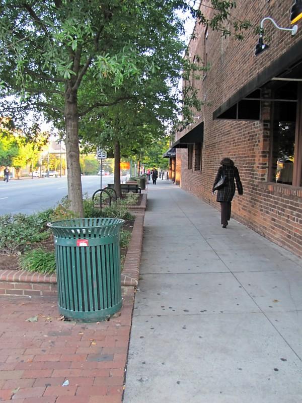 Sidewalk Franklin Street