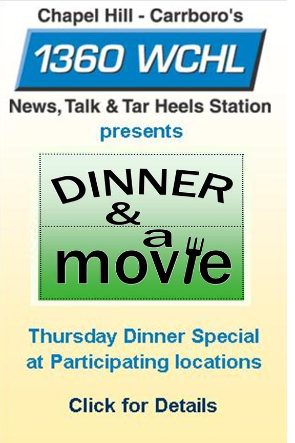 Dinner and a Movie - 1360 WCHL