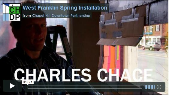 West Franklin Art Installation - Spring - Charles Chace