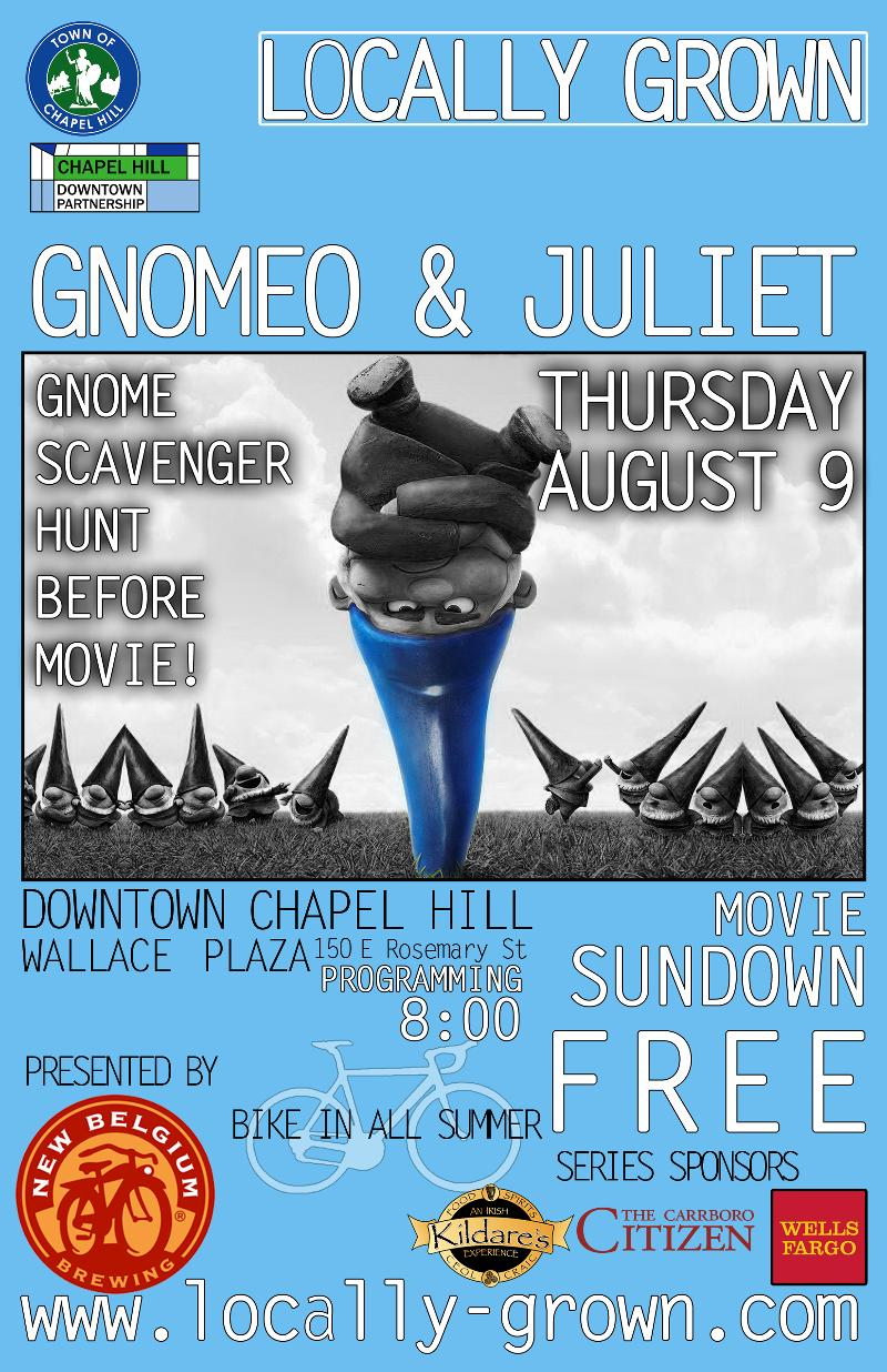Gnomeo Poster - LOCALLY GROWN