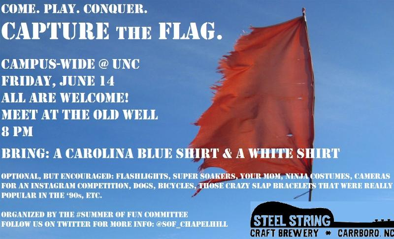Capture the Flag- Summer of Fun at UNC