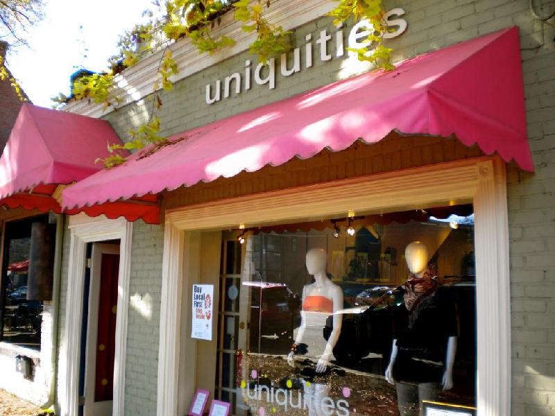 Uniquities - store front