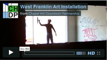 West Franklin Art Installation Video