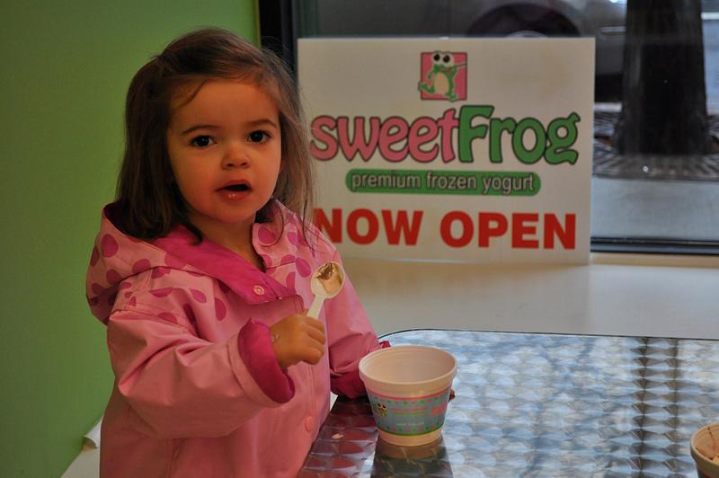 Sweet Frog- Now Open