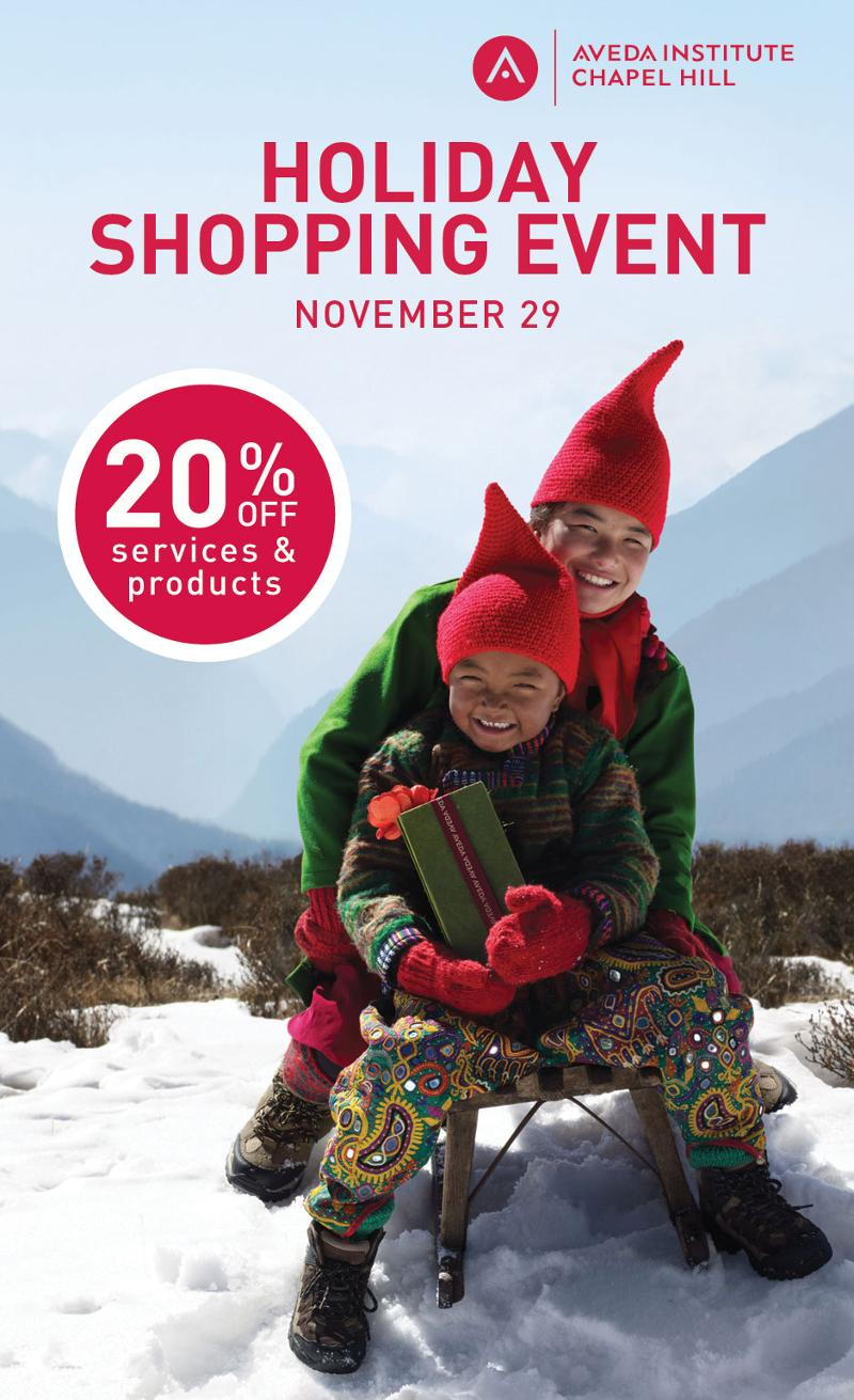 Aveda Holiday Promotion