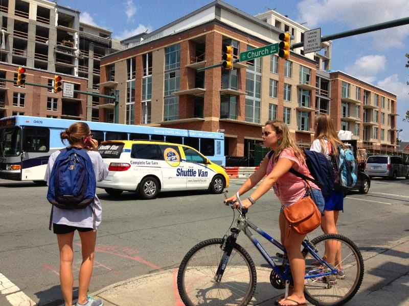 Walk, Bike, Bus Downtown