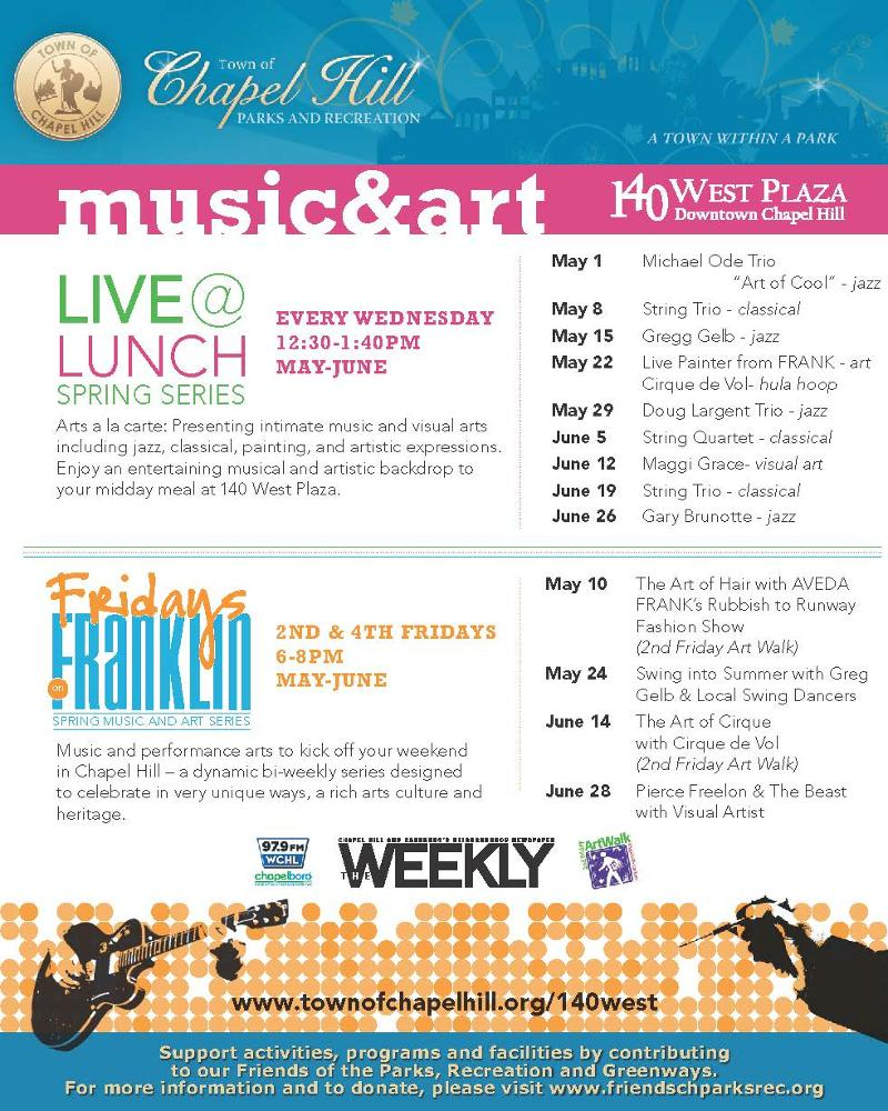 140 West Franklin Plaza Events