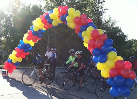 BALLOON ARCH FOR li CYCLE