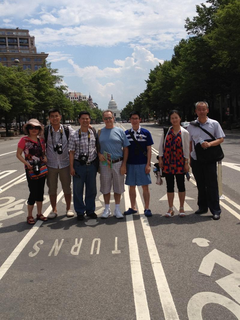 China Visitors in DC