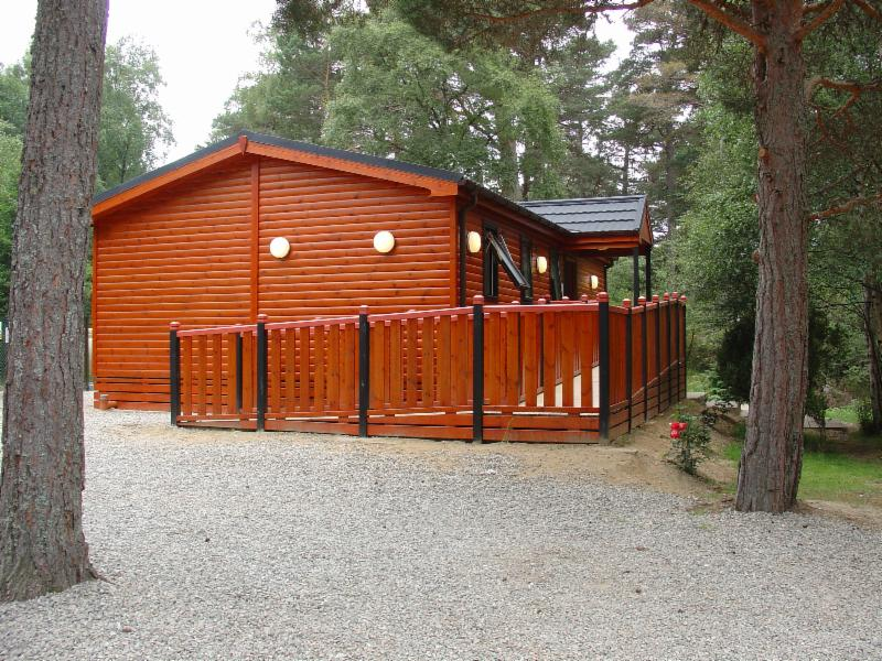 Refurbished Toilet Block at Rothiemurchus