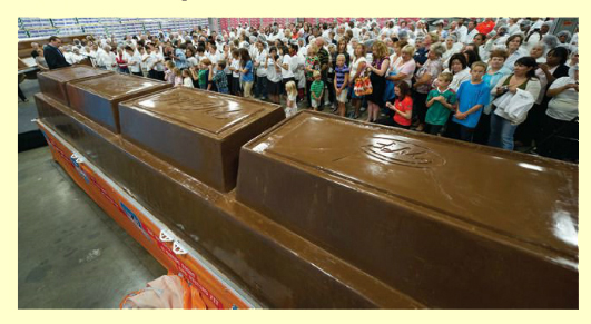 World's Largest Chocolate Bar