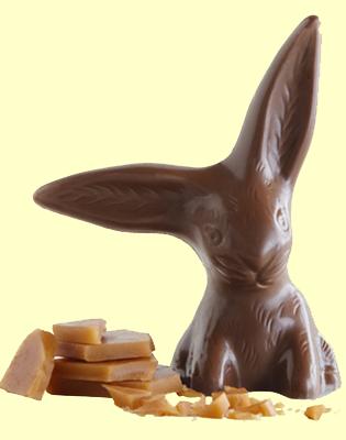 Vosges Chocolate Caramel Bunnies
