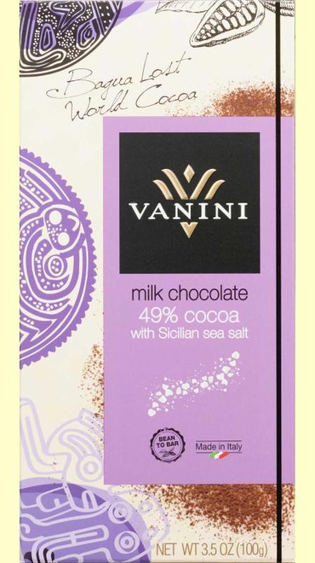 Vanini Milk Chocolate