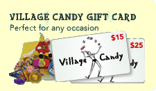 Village Candy Gift Cards