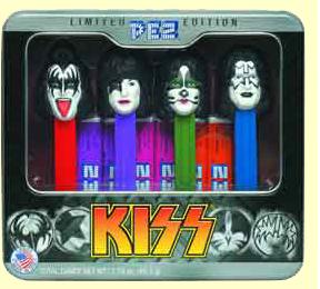 Kiss Pez Gift Set