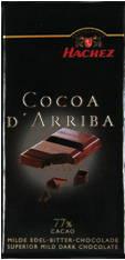 Hachez Cocoa D'Arriba Dark