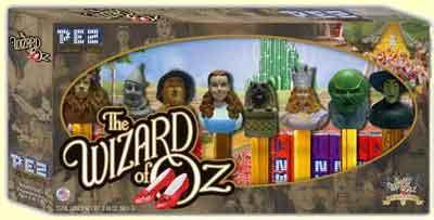 Wizard of Oz Pez Set