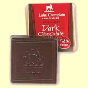 Lake Champlain Dark Chocolate Square