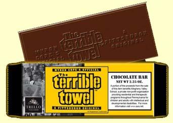Terrible Towel Chocolate Bar