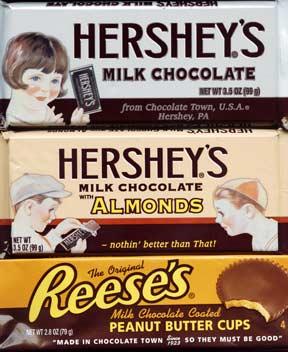 Hershey's Retro Bars