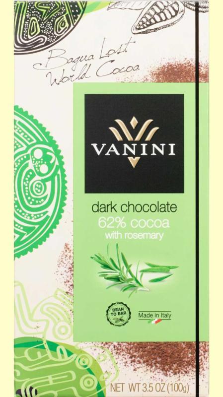 Panini Dark Chocolate with Rosemary