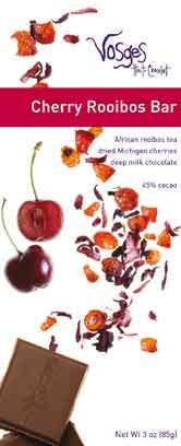 Vosges Cherry Rooibos Bar