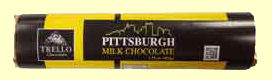 Pittsburgh Skyline Chocolate Bar