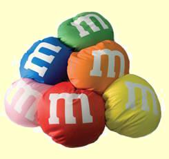 M&M Microbead Pillows