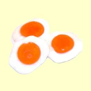 Gummi Fried Eggs