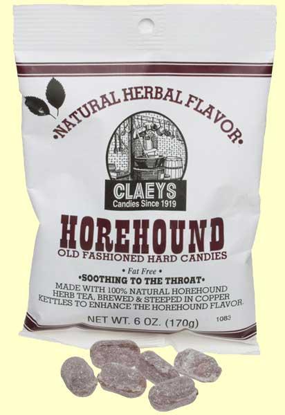 Claeys Horehound Candy