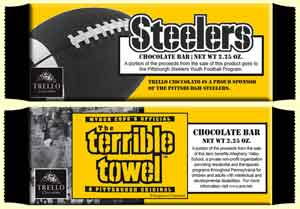Steelers Chocolate Bars