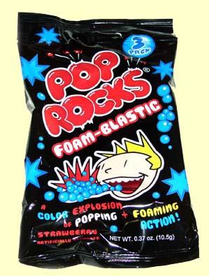 Pop Rocks Foam-Blastic